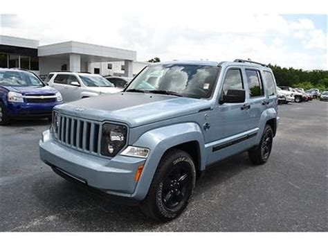 2012 Jeep Liberty Arctic Purchase Used 2012 Jeep Liberty 4x4 Arctic Edition Winter