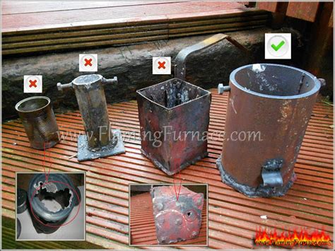 backyard metal casting foundry metal crucible metal work pinterest metals