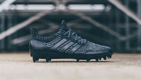 Adidas Ub Caged Trple Blck Mat adidas unveil quot black quot ultraboost cleat soccerbible