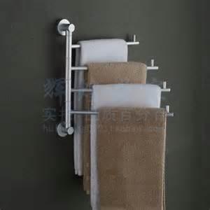 bathroom towel holders accessories bathroom towel racks folding movable bath towel bar wall