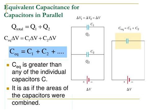 capacitor in parallel ppt ppt combinations of capacitors energy stored in a charged capacitor powerpoint presentation