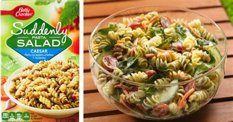 pasta salad box target suddenly pasta salad only 45 162 per box hip2save