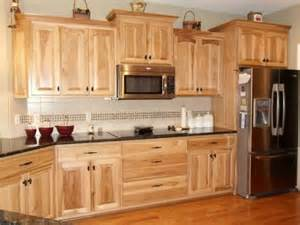 Kitchen Cabinets And Counters by What Granite Choice With Natural Hickory Cabinets
