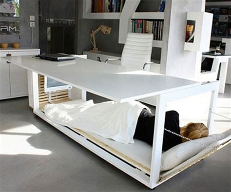office bed innovative trio desk bed and table by athanasia leivaditou