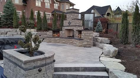 outdoor fireplace design installation davel construction