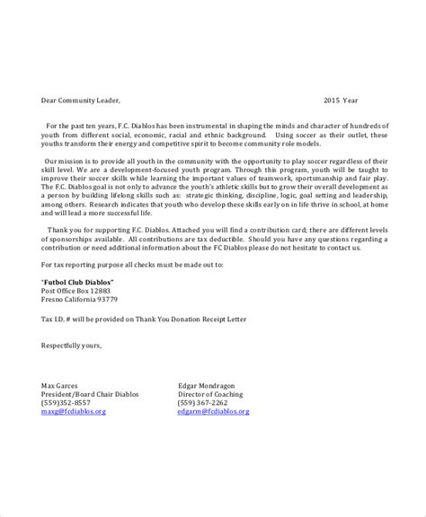 Youth Sponsorship Letter Cover Letter Sles Cover Letter Sles Youth Sports Scholarship Application Template