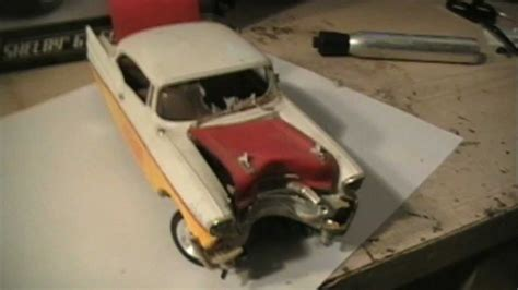 model car pics how to make your plastic model car junker look like it