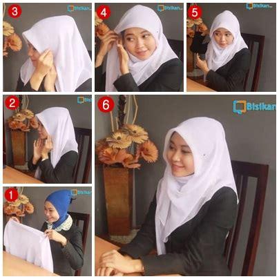 tutorial jilbab segitiga untuk ke kantor new tutorial jilbab simple untuk ke kantor hijab tips