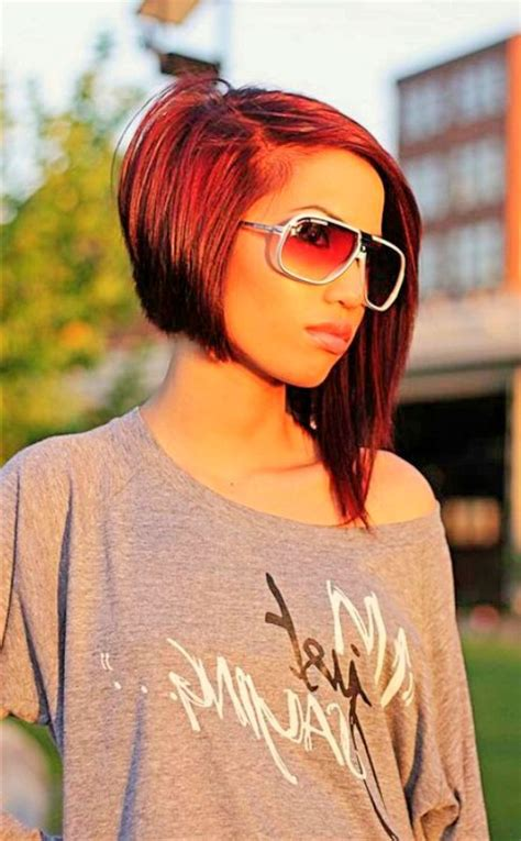 short puffy uneven hairdos top 25 best uneven bob ideas on pinterest uneven bob