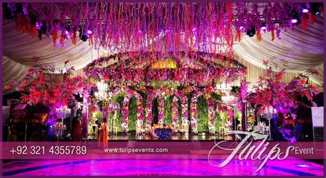 Night Garden Mehendi Stage   Tulips Event Management