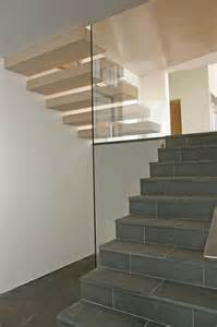 Bathroom Molding Ideas stone floating stairs amp glass rail modern staircase