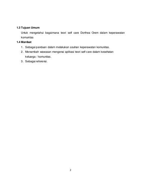 format asuhan keperawatan menurut orem makalah teori self care dorthea orem dalam keperawatan