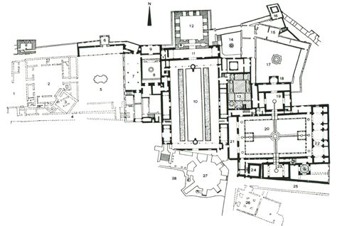 Alhambra Plan by Arch 361 Midterm At New York Institute Of Technology
