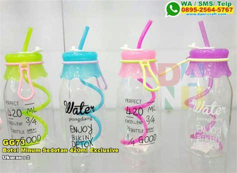 Gelas Botol Kaca Jar Beling 6 291 tas kosmetik pita exclusive souvenir pernikahan