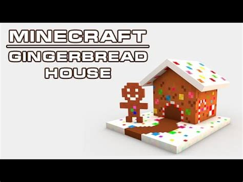 download youtube gingerbread cinema 4d minecraft christmas gingerbread house model