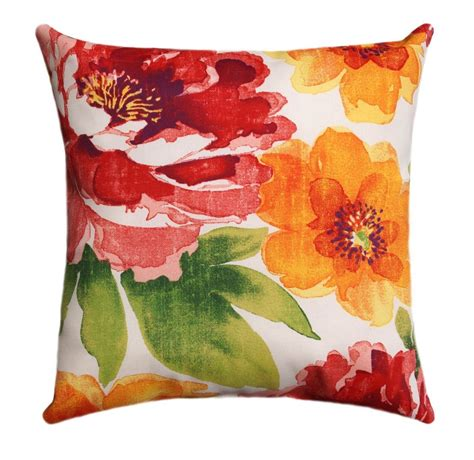 floral outdoor decorative throw pillow richloom solarium