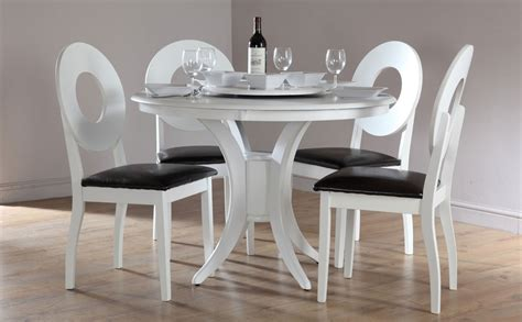 white dining room table set dining tables for 4 chairs set furniture