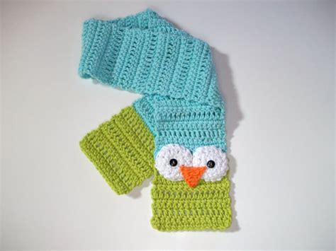 items similar to pattern crochet stuffed owl ornament items similar to pattern crochet owl toddler scarf size 2