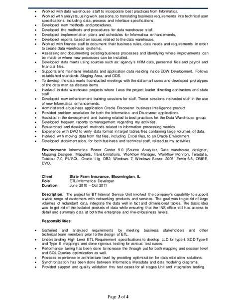 Etl Developer Resume by Etl Developer Resume Cover Letter