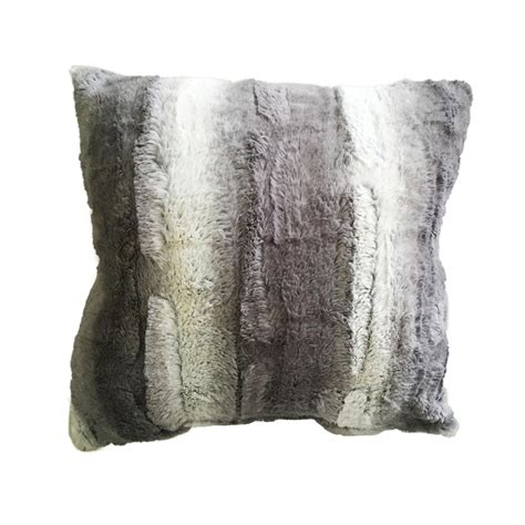 faux fur decorative pillows cannon plush faux fur decorative throw pillow home