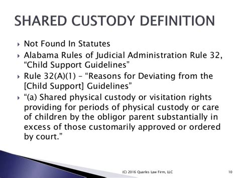section 9 child support guidelines divorce child custody issues