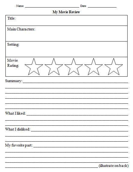 rating template 14 awesome review template worksheet images grade