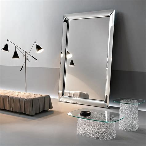 caadre leaning mirror large  glassdomaincouk