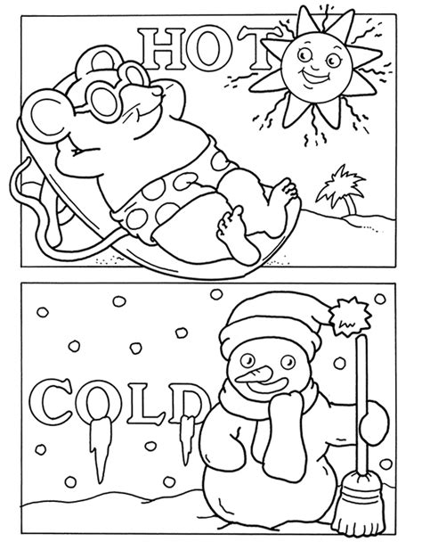 opposites coloring pages for toddlers free coloring pages of opposites