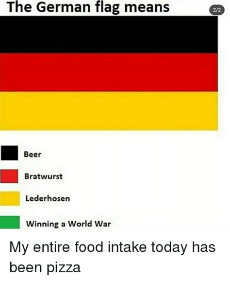 bratwurst meaning the german flag means 22 beer bratwurst lederhosen winning