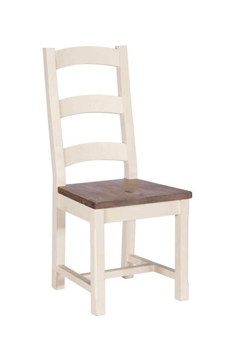montpellier painted wooden seat dining chair casa