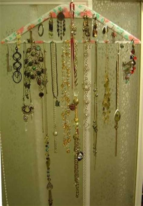 Handmade Jewelry Organizer - 20 diy bedroom organizer enhancing recycling concepts with