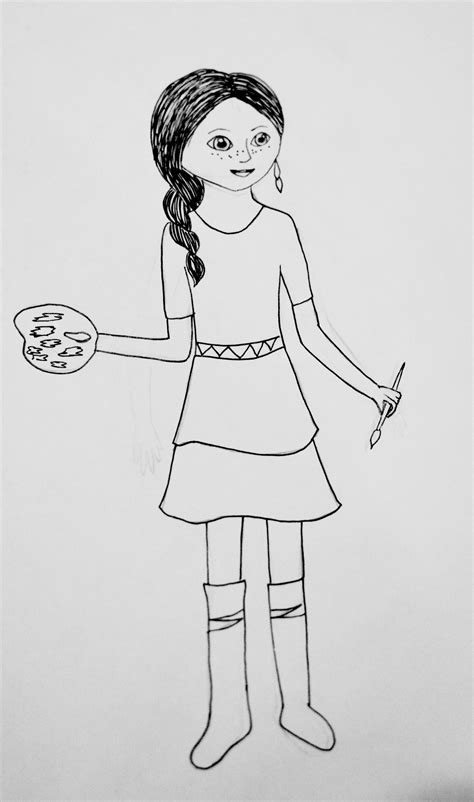american girl isabelle doll coloring page free printable goty coloring pages saige mckenna and isabelle