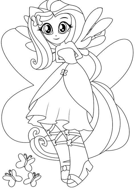 Rainbow Rocks Coloring Pages Equestria Rainbow Dash Coloring Pages Free