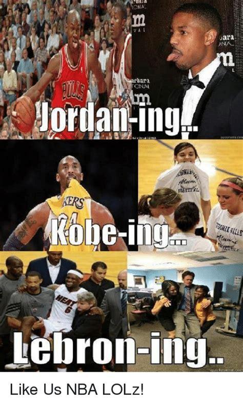 Lebron Kobe Jordan Meme - ara una bara onal jordan ing kobe lebron ing like us nba