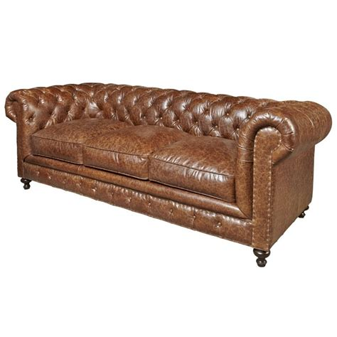 leather sofa 500 universal furniture curated berkeley leather sofa in brown