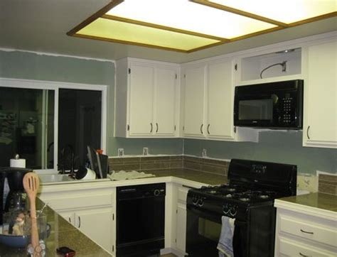 replacing fluorescent light in kitchen replacing fluorescent lights in the kitchen blog new