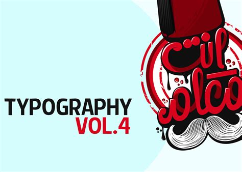 typography behance typography vol 4 on behance