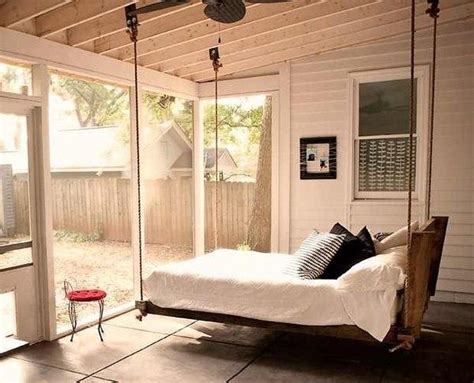 is swinging a good idea 25 hanging bed designs floating in creative bedrooms