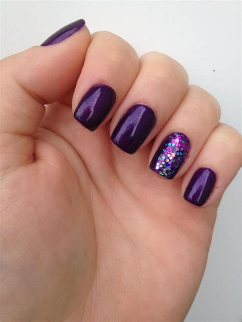 most popular purple gel nail color 25 best ideas about purple gel nails on pinterest gel