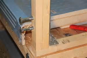 Dog Room Divider - reinforcing a half wall