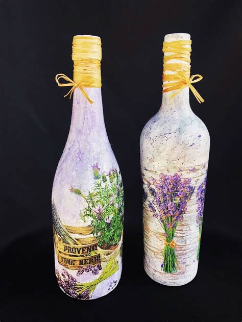 Decoupage Glass Bottles - 51 best decorated wine bottles decoupage bottles coffee
