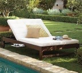 Chesapeake Pottery Barn Double Chaise Cushion Foter
