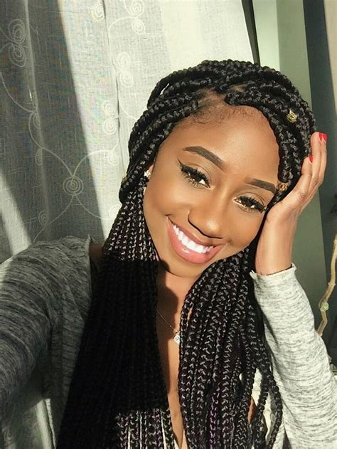 images of medium size individual african american braids 991 best box braids images on pinterest protective