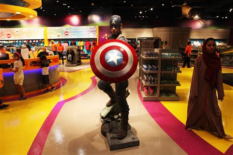 indoor park seattle dubai opens marvel branded indoor theme park the seattle times