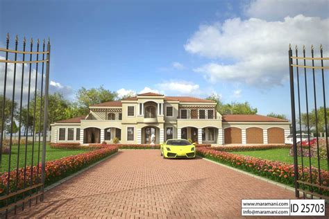houses plans and designs free 5 bedroom house plan id 25703 house plans by maramani