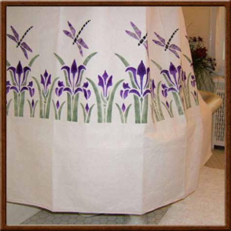 arts and crafts shower curtain home sweet bungalow