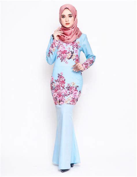 Baju Kurung Moden Electric Blue baju kurung moden delphine baby blue lovelysuri