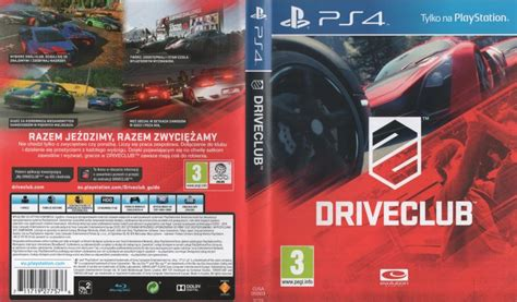 Ps4 Driveclub Reg 2 Eur Eng driveclub 2014 playstation 4 box cover mobygames