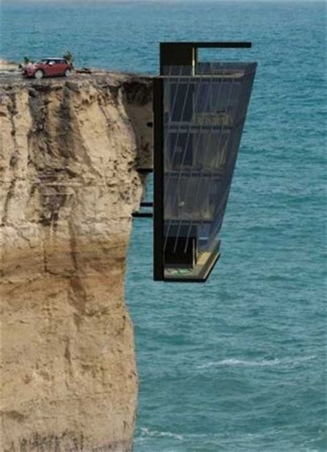 houses falling off cliffs cliff house i would never go home i would feel like i would fall off the cliff
