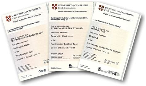 test inglese cambridge corner franciscanos certificate for schools
